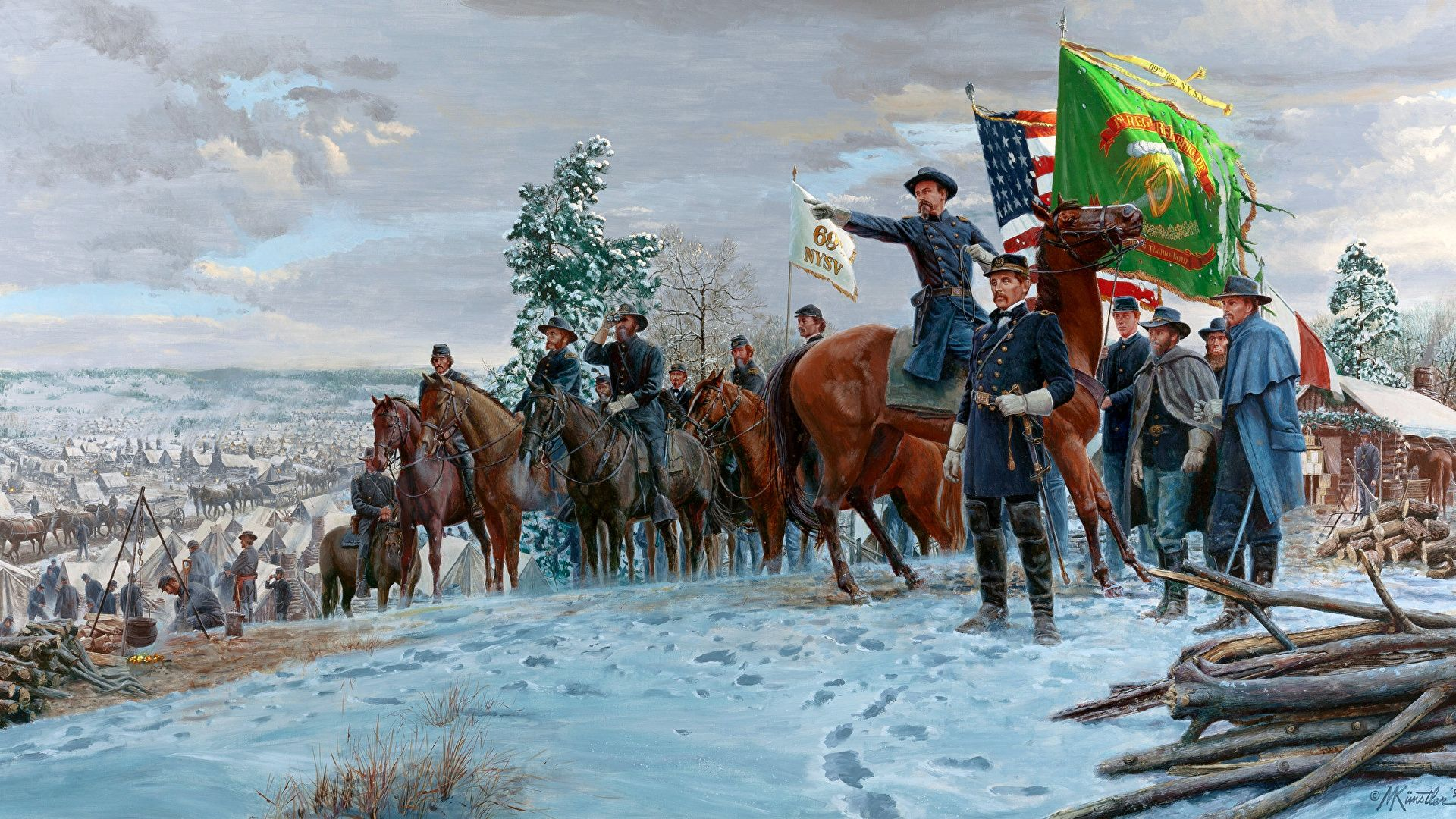 The Confederates Paintings