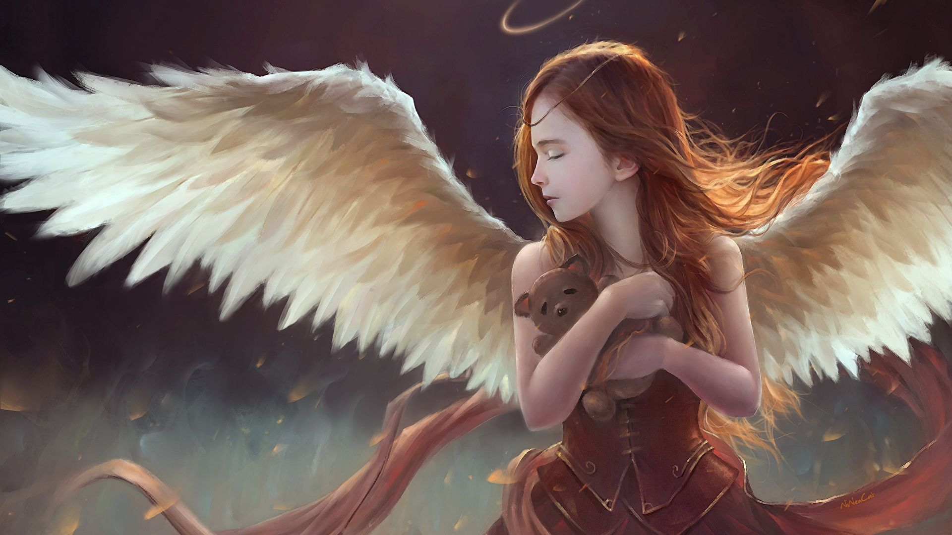 The Girl With Wings