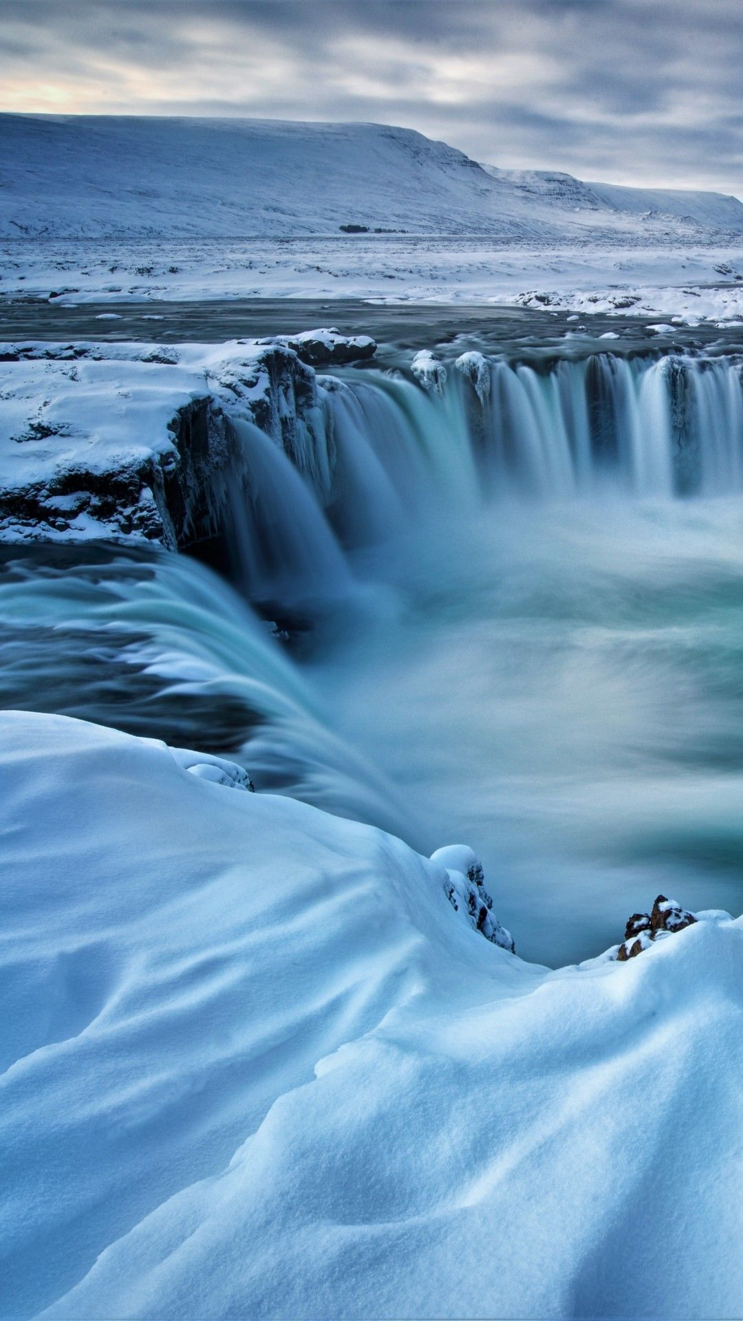 The Godafoss Waterfall Iceland Photo
