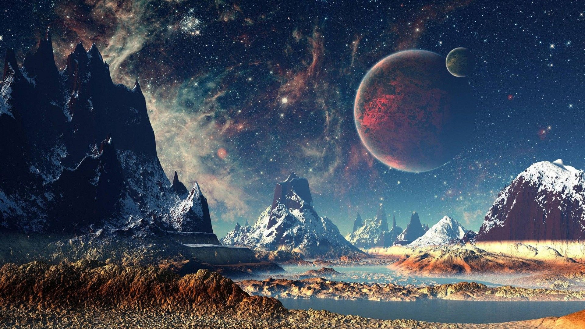 The Landscape Of Another Planet