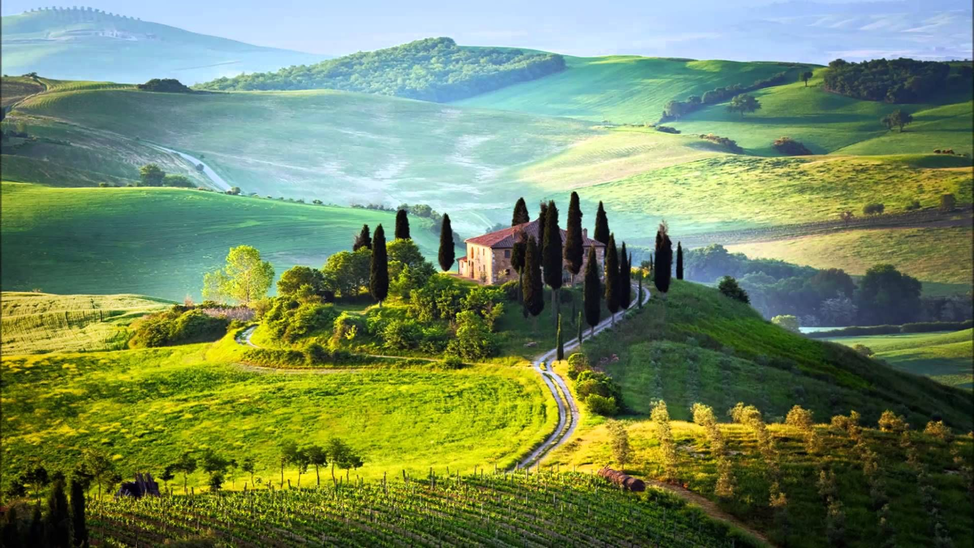 The Landscapes Of Tuscany Italy