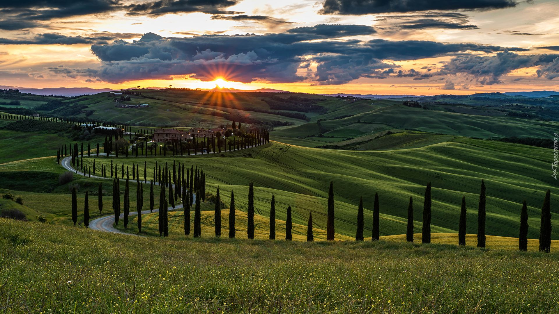 The Landscapes Of Tuscany Photo