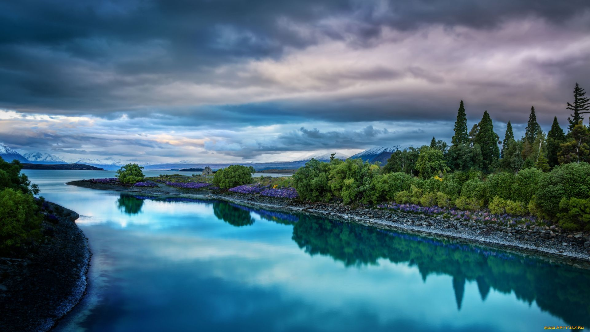 The Landscapes Of New Zealand