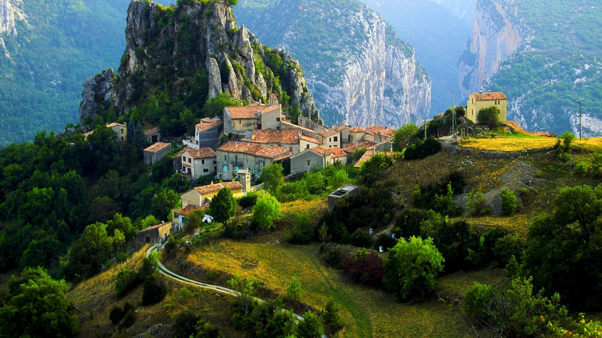 The Mountain Villages Of France
