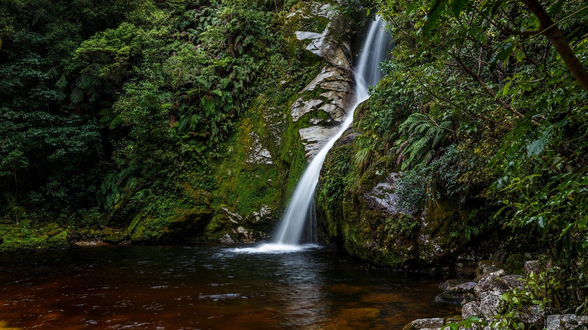 The Nature Of New Zealand Photo Waterfalls