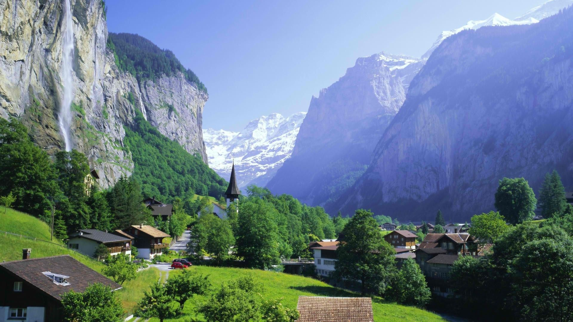 The Nature Of The Swiss Alps