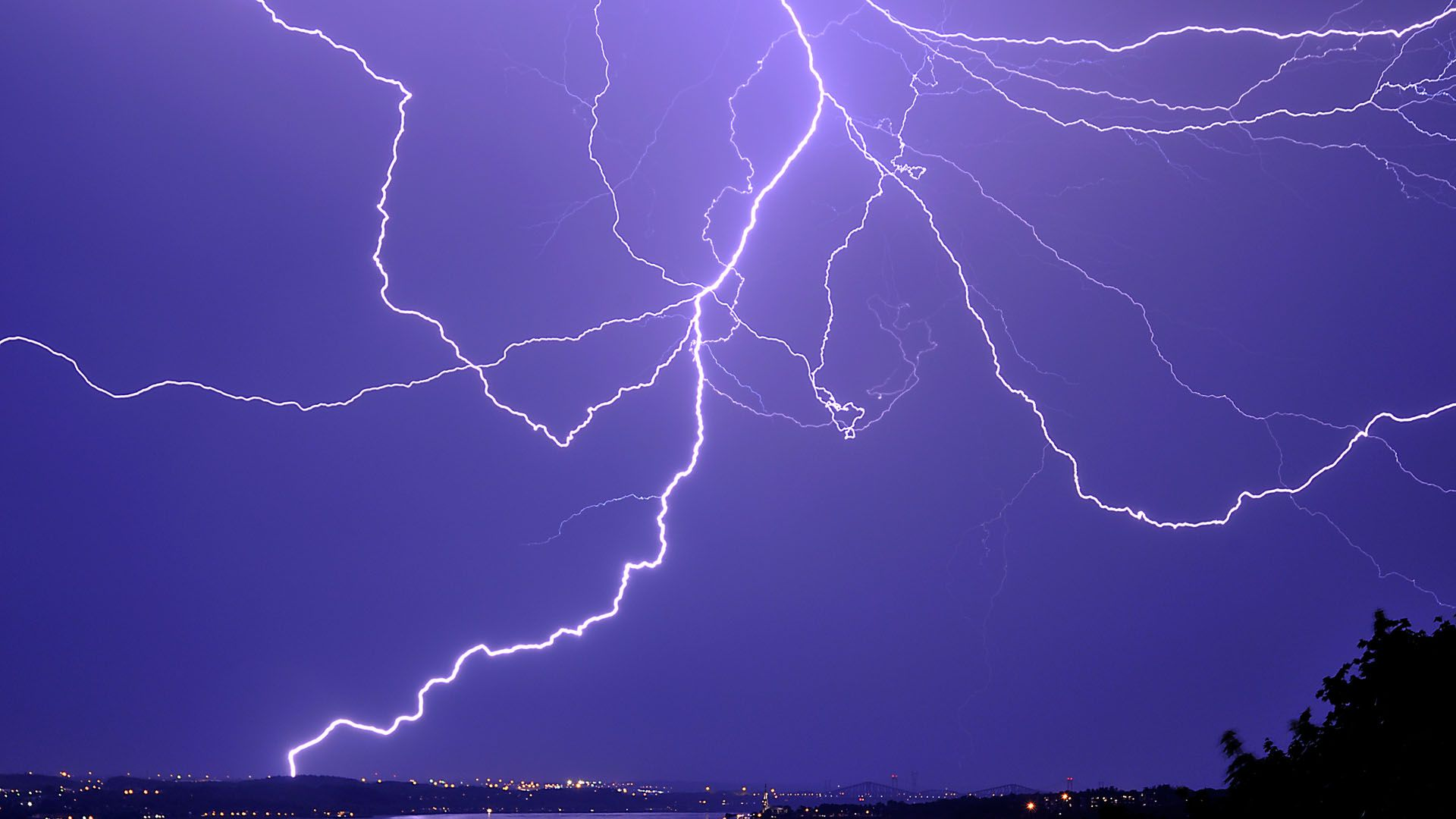 The Picture Thunderstorm And Lightning For Kids