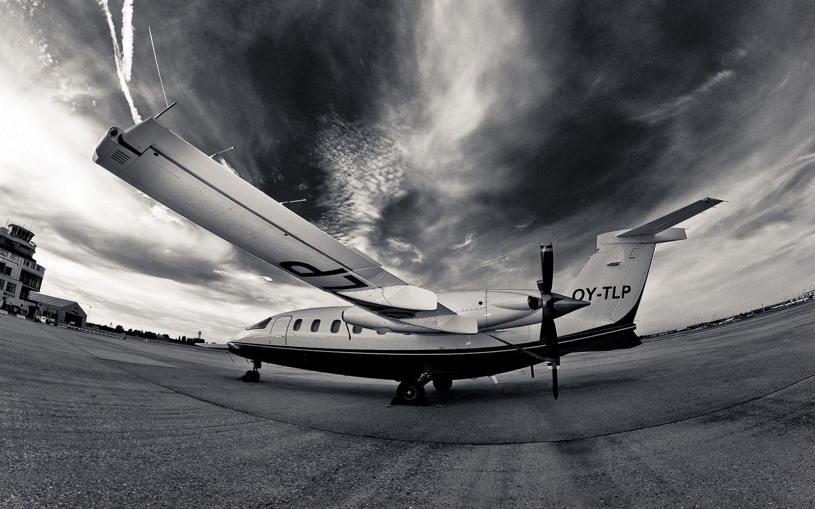 The Plane Bw