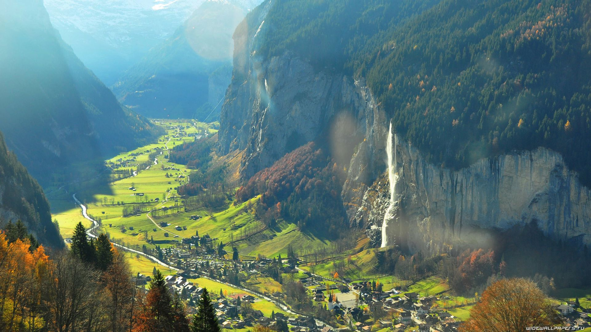 The Valley Of Lauterbrunnen