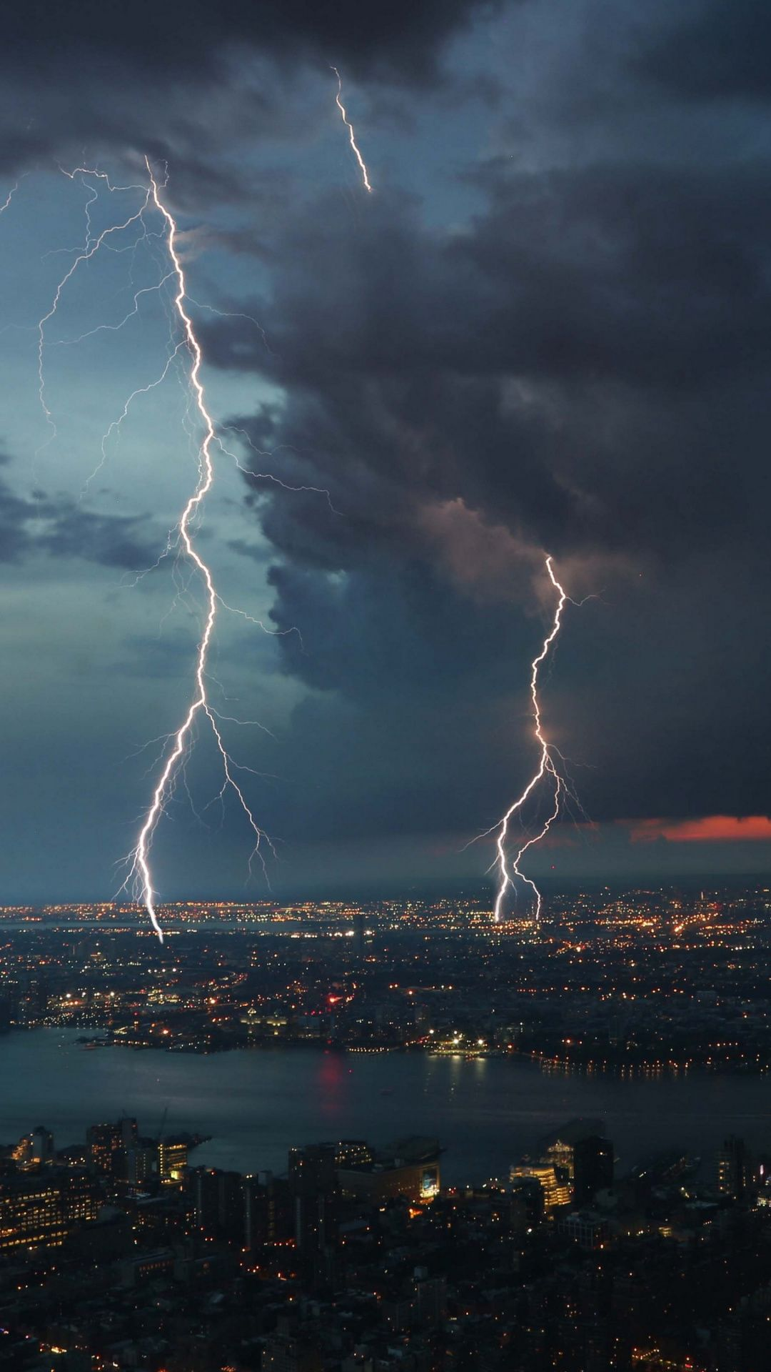 Thunderstorm In The City Photo