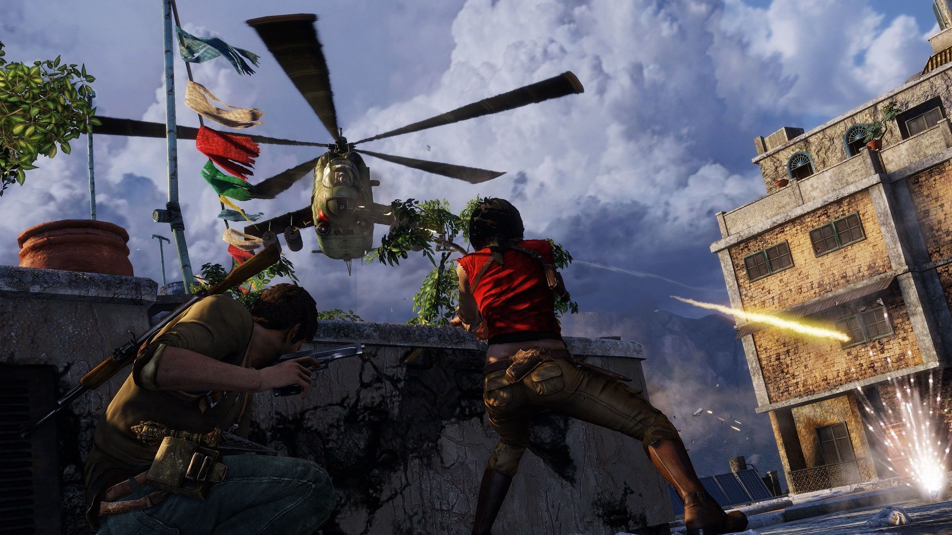 Uncharted 2 Among Thieves Helicopter