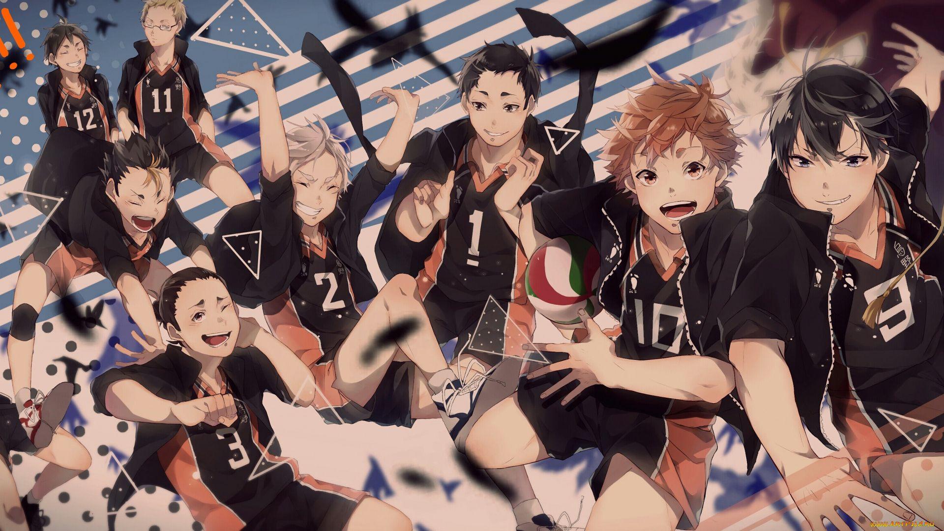 Volleyball Anime Art Haikyuu!!