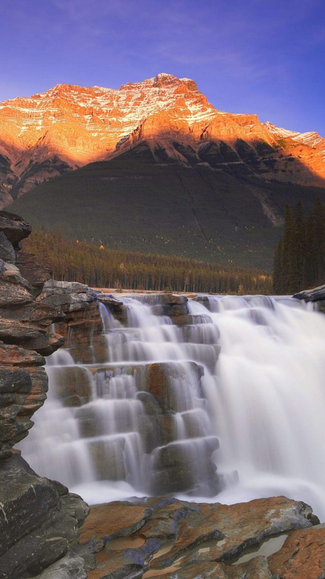 Waterfall Athabasca Canada