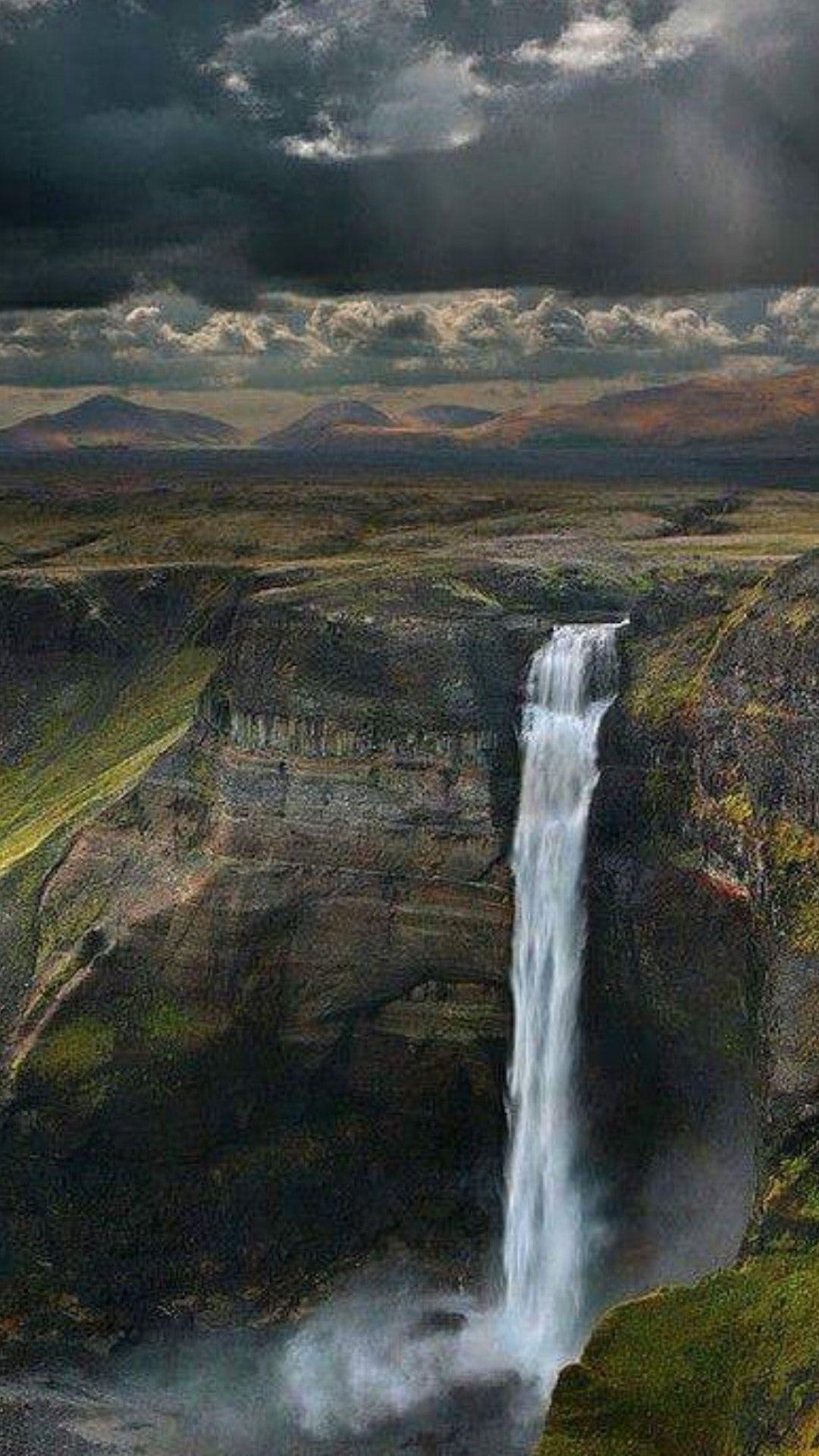 Waterfall Haifoss