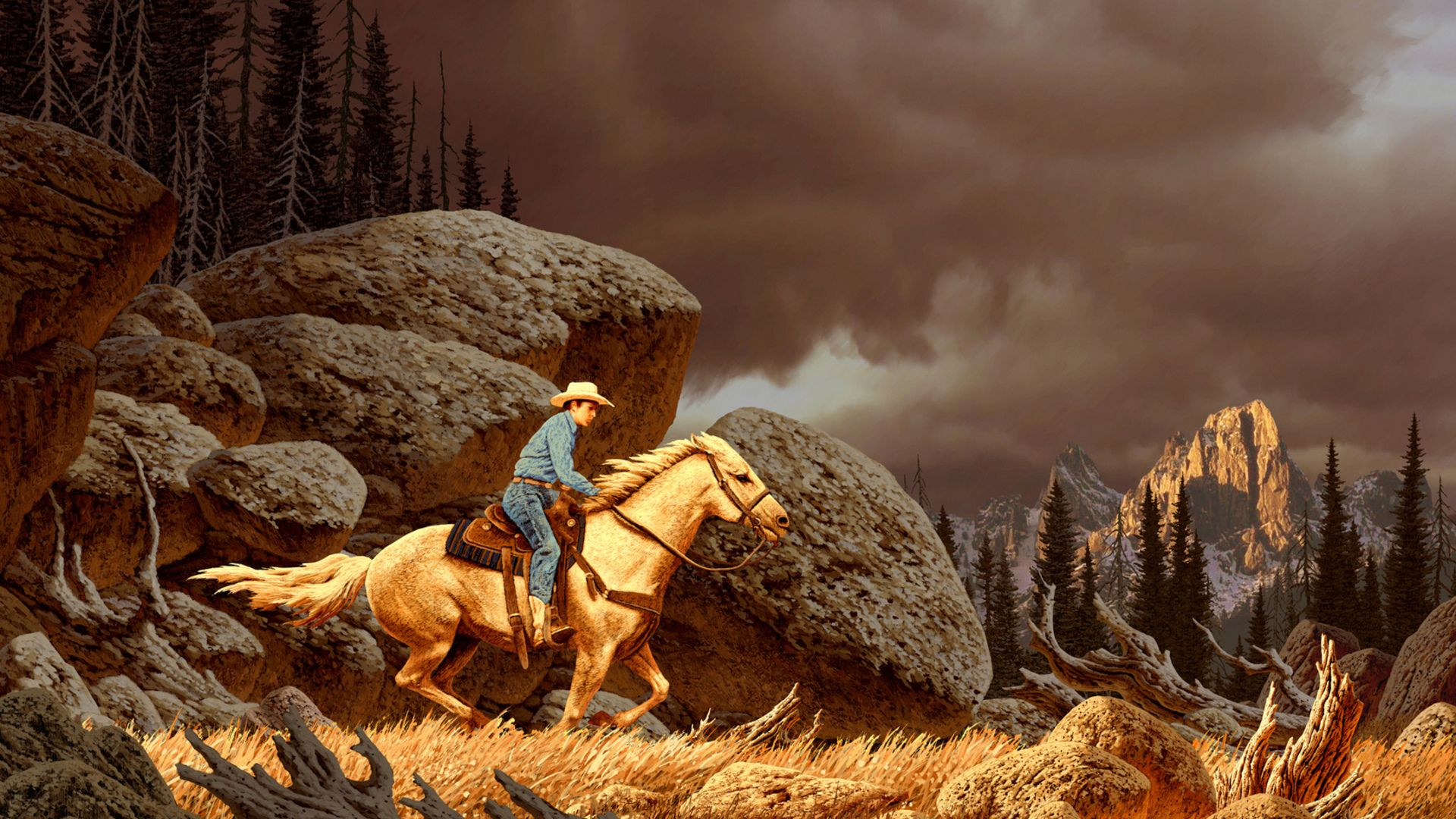 Wild West Wallpaper