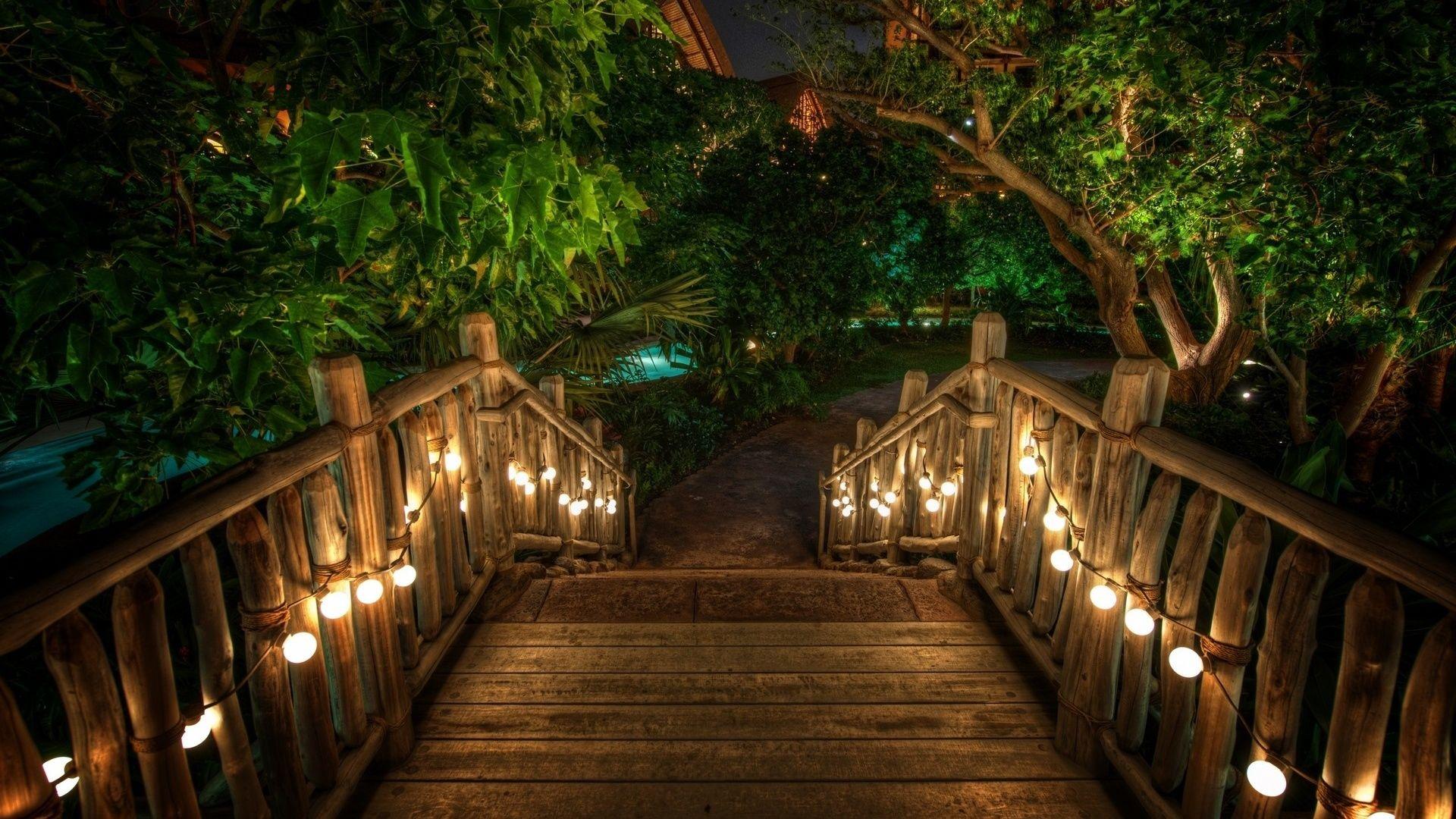 Wooden Fairy Bridge Photo