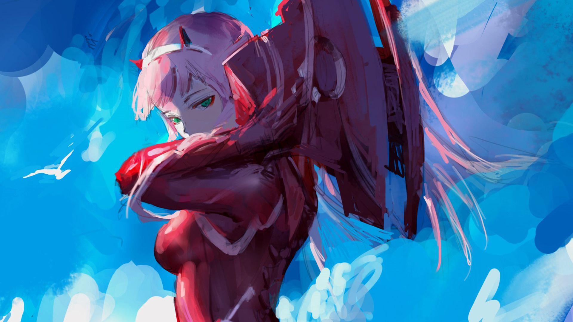 Zero Two Anime 1920 1080