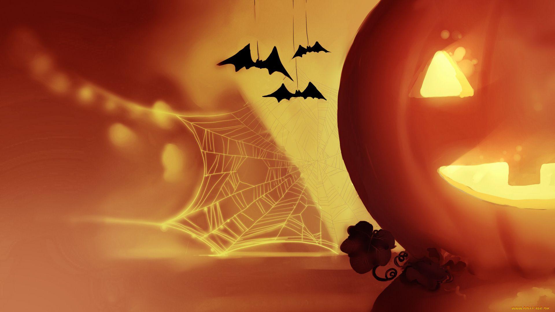 Halloween Photo Pumpkin And Midi