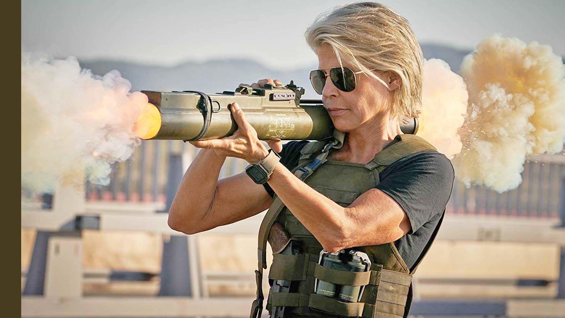 Linda Hamilton Terminator 2019
