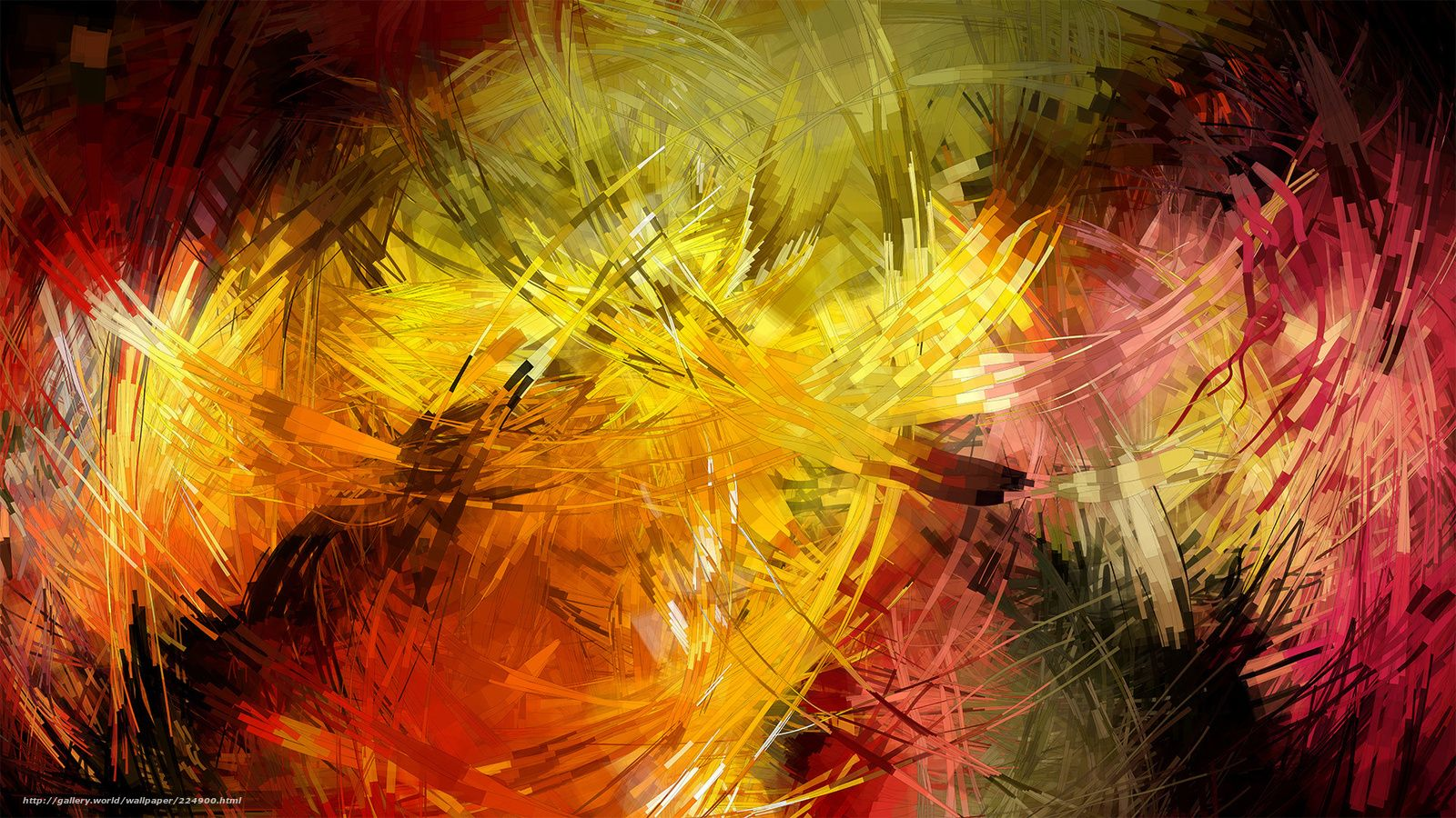 Abstraction Colorful