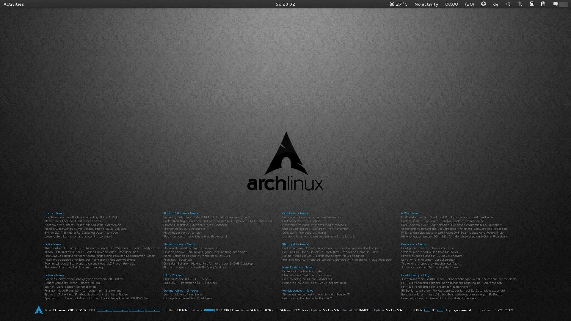 Arch laptop wallpaper