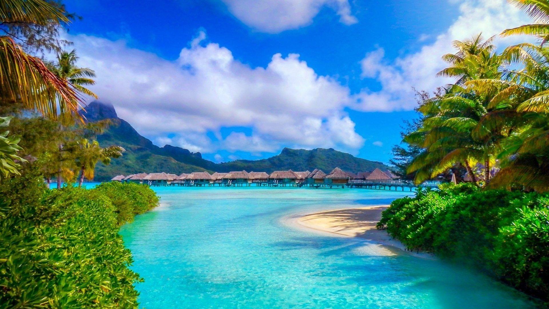Bora Bora desktop background free