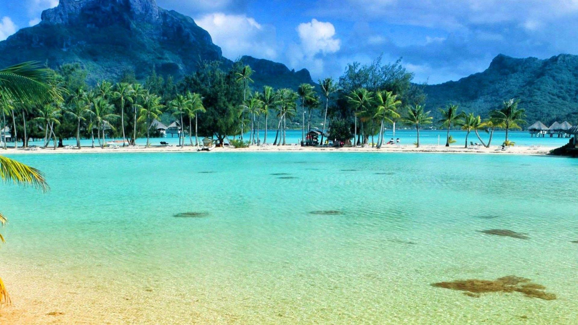 Bora Bora laptop background