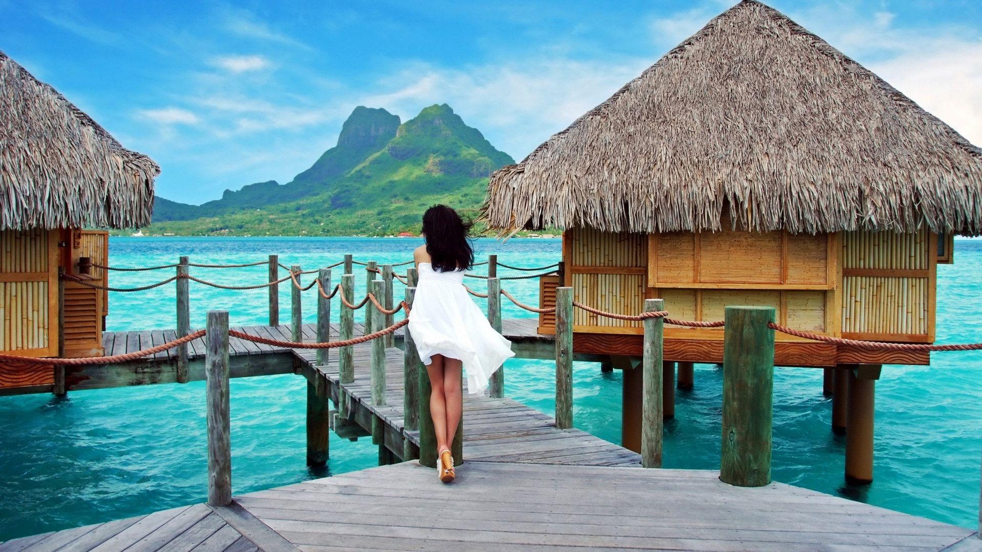 Bora Bora background