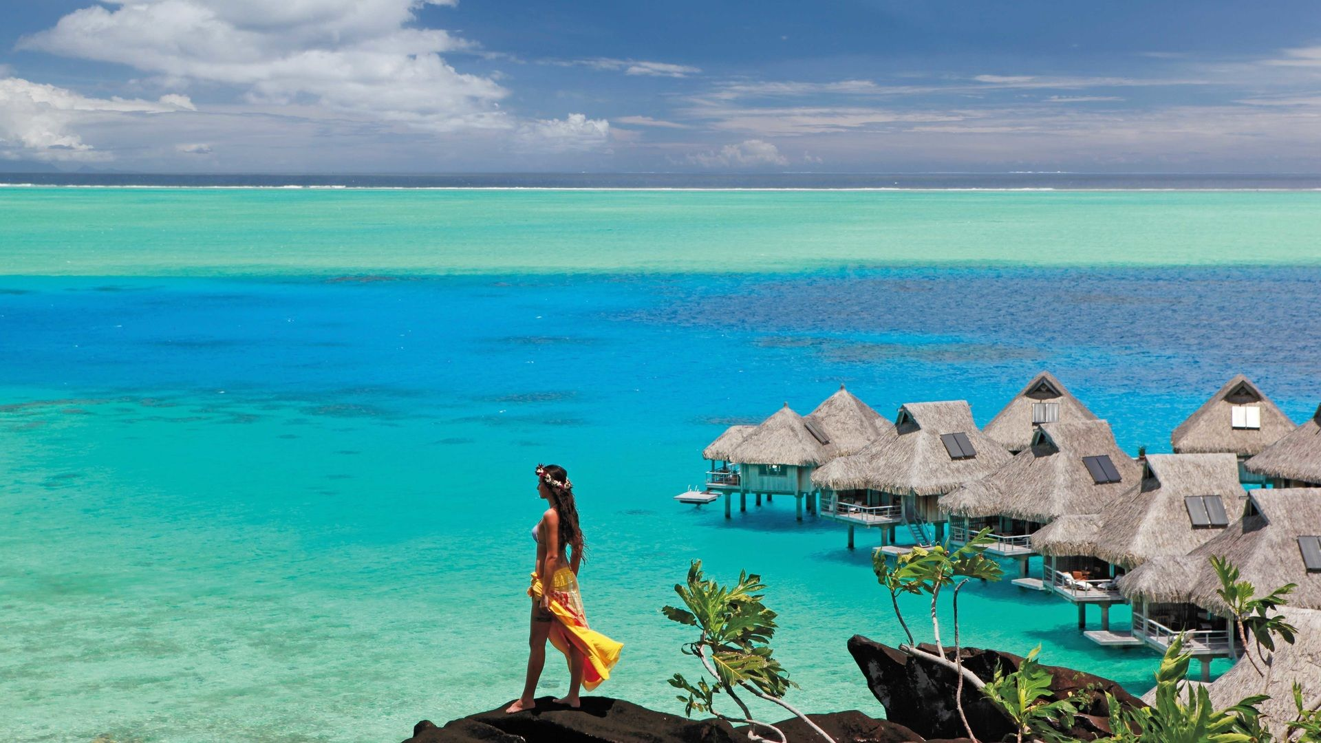 Bora Bora good background