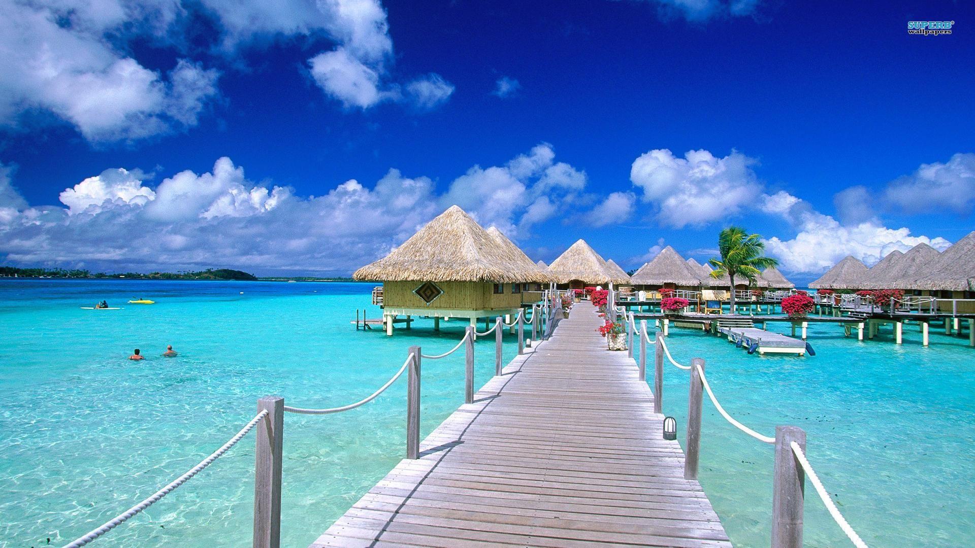 Bora Bora desktop wallpaper