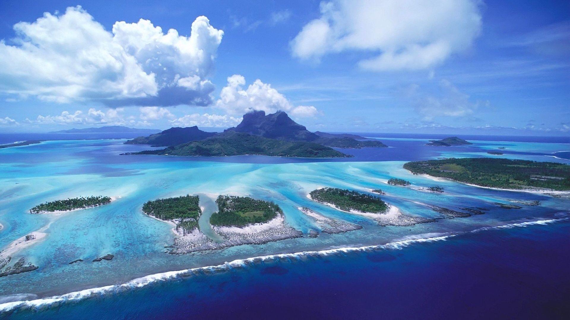 Bora Bora computer background