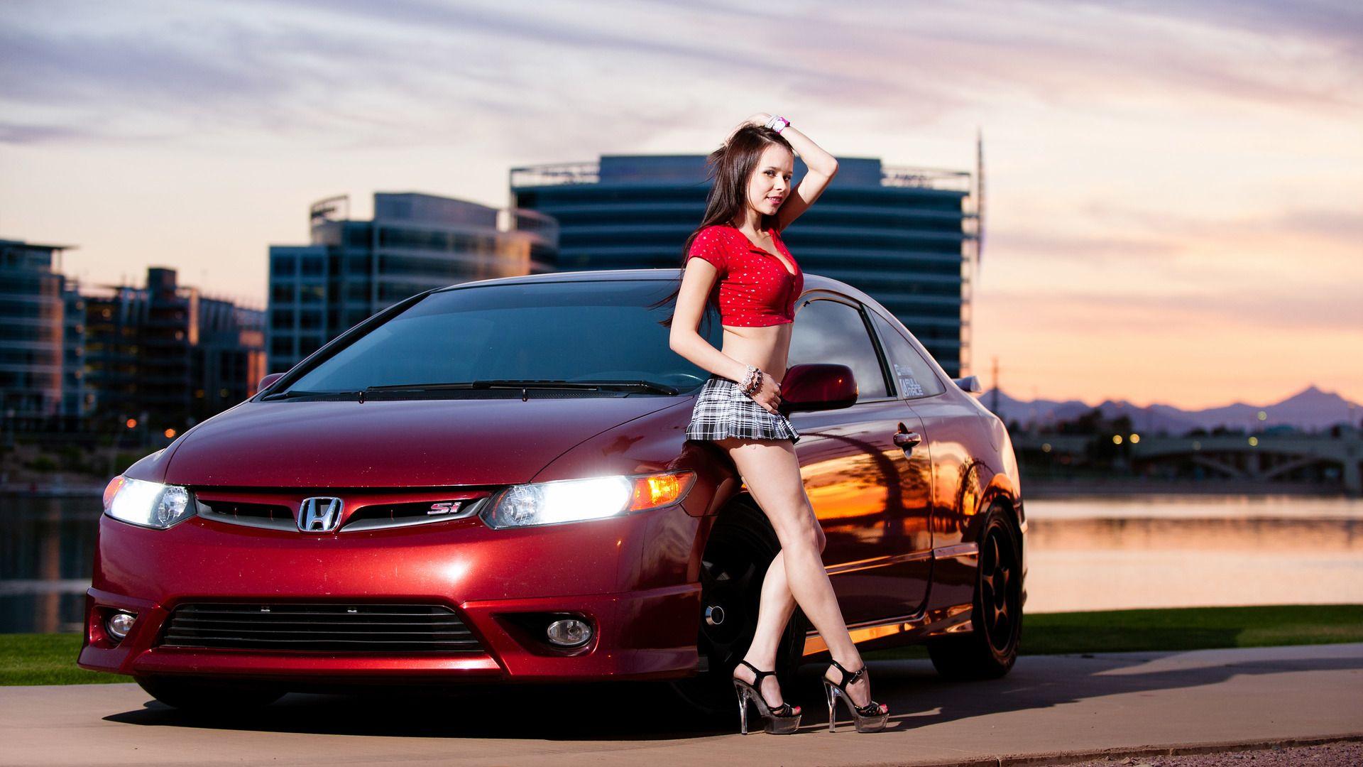 Car Girl 1080p