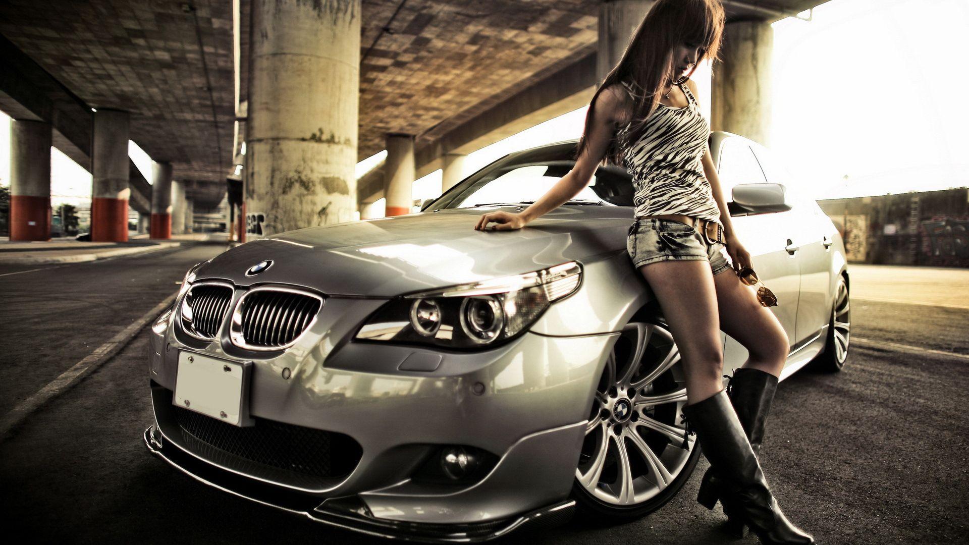 Car Girl hd wallpaper