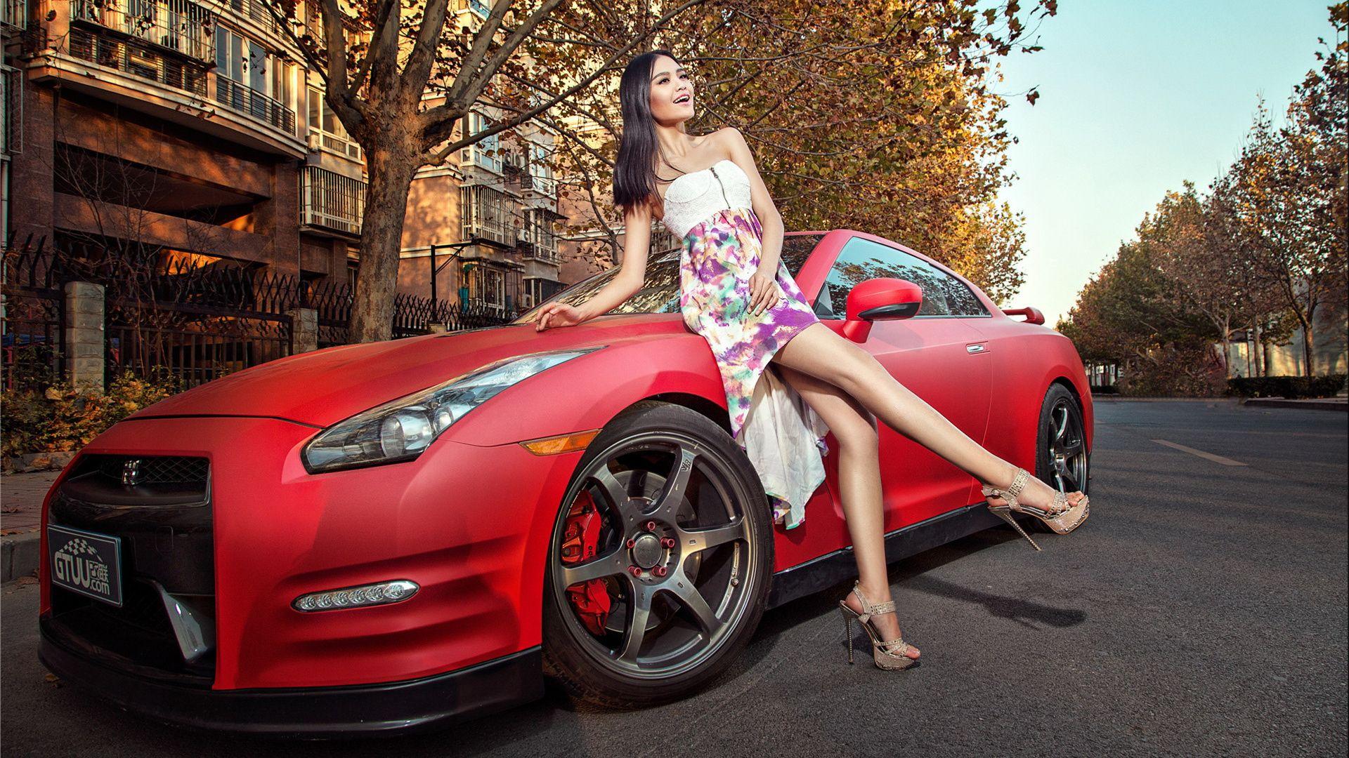 Car Girl jpg picture