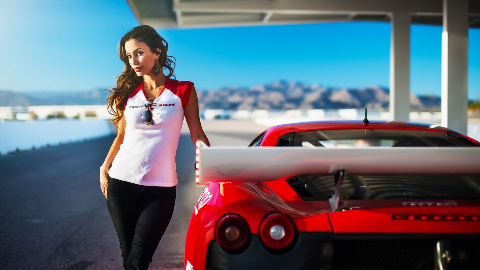 Car Girl hd picture