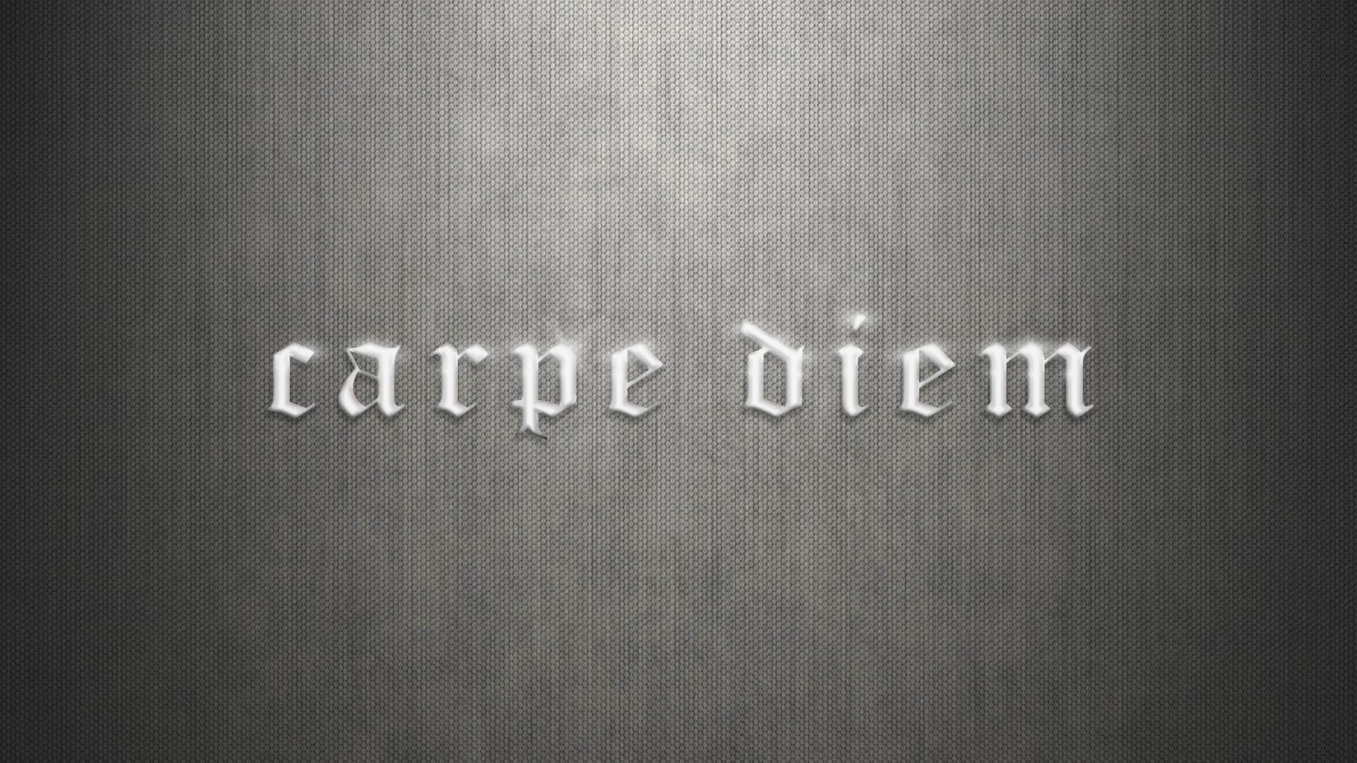 Carpe Diem hd wallpaper