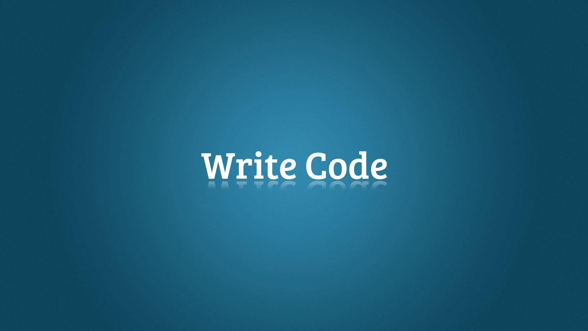 Coding computer wallpaper