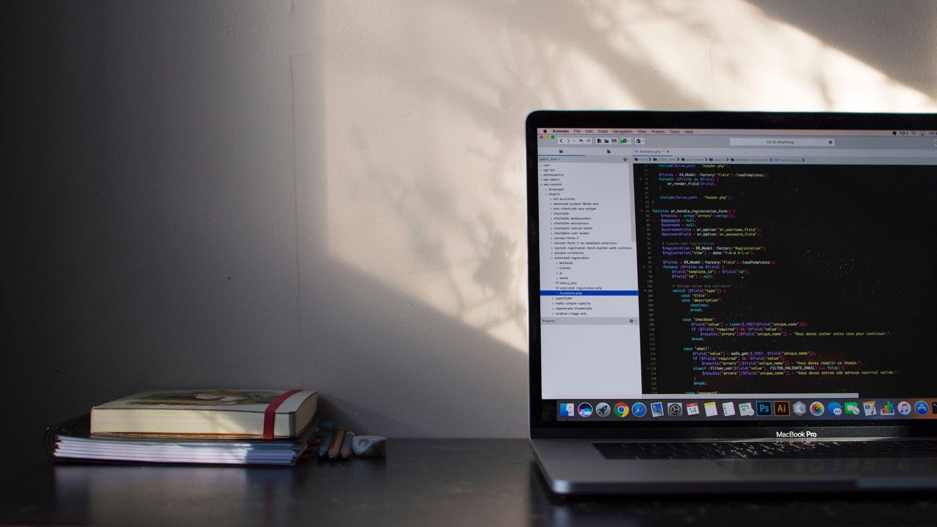 Coding background image