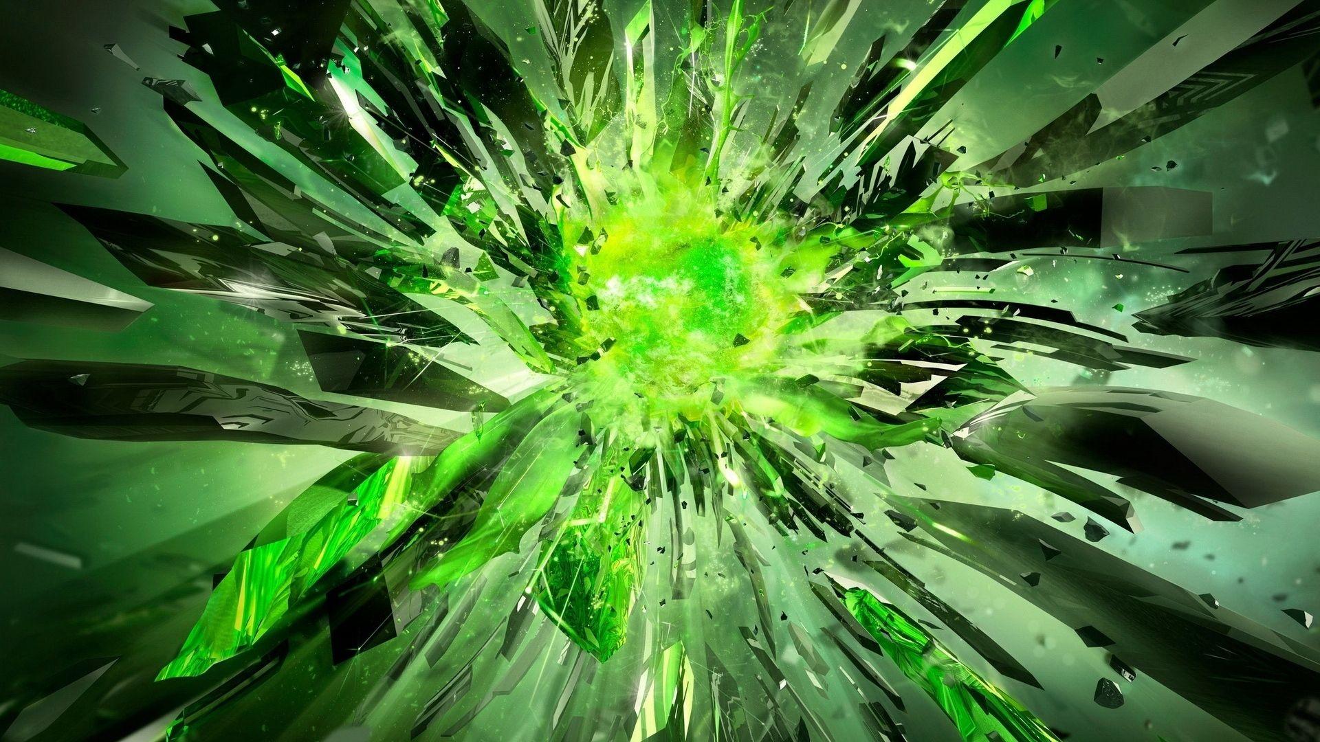 Cool Green 1080p wallpaper