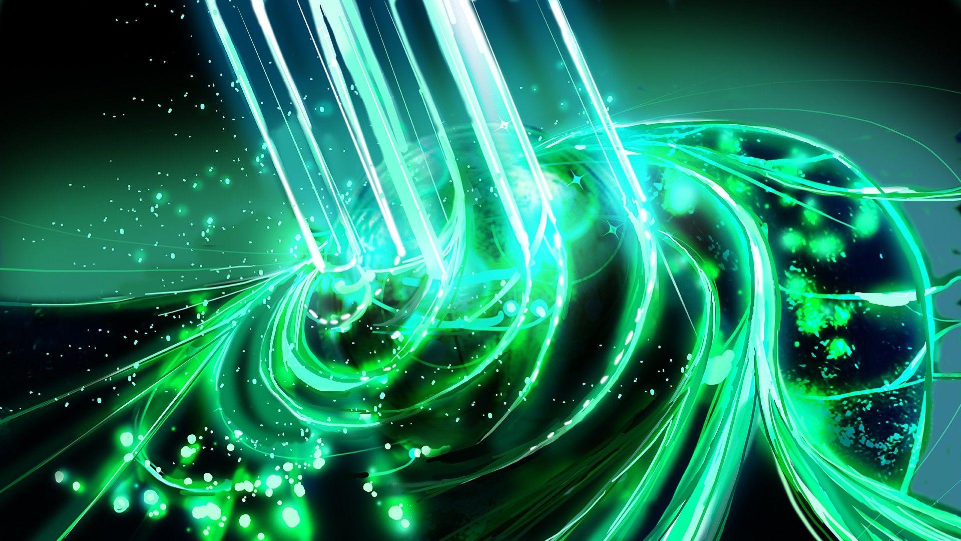 Cool Green wallpaper 1080p