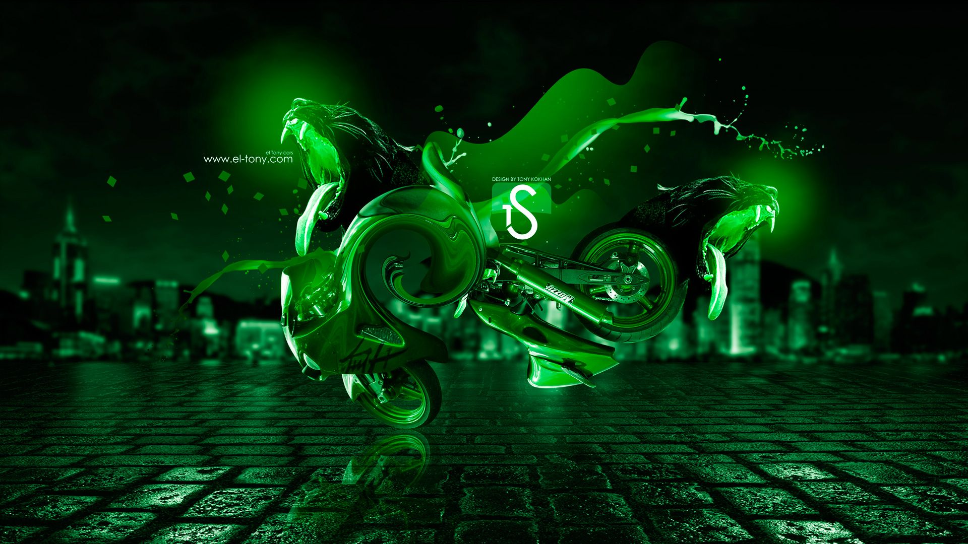 Cool Green wallpaper background