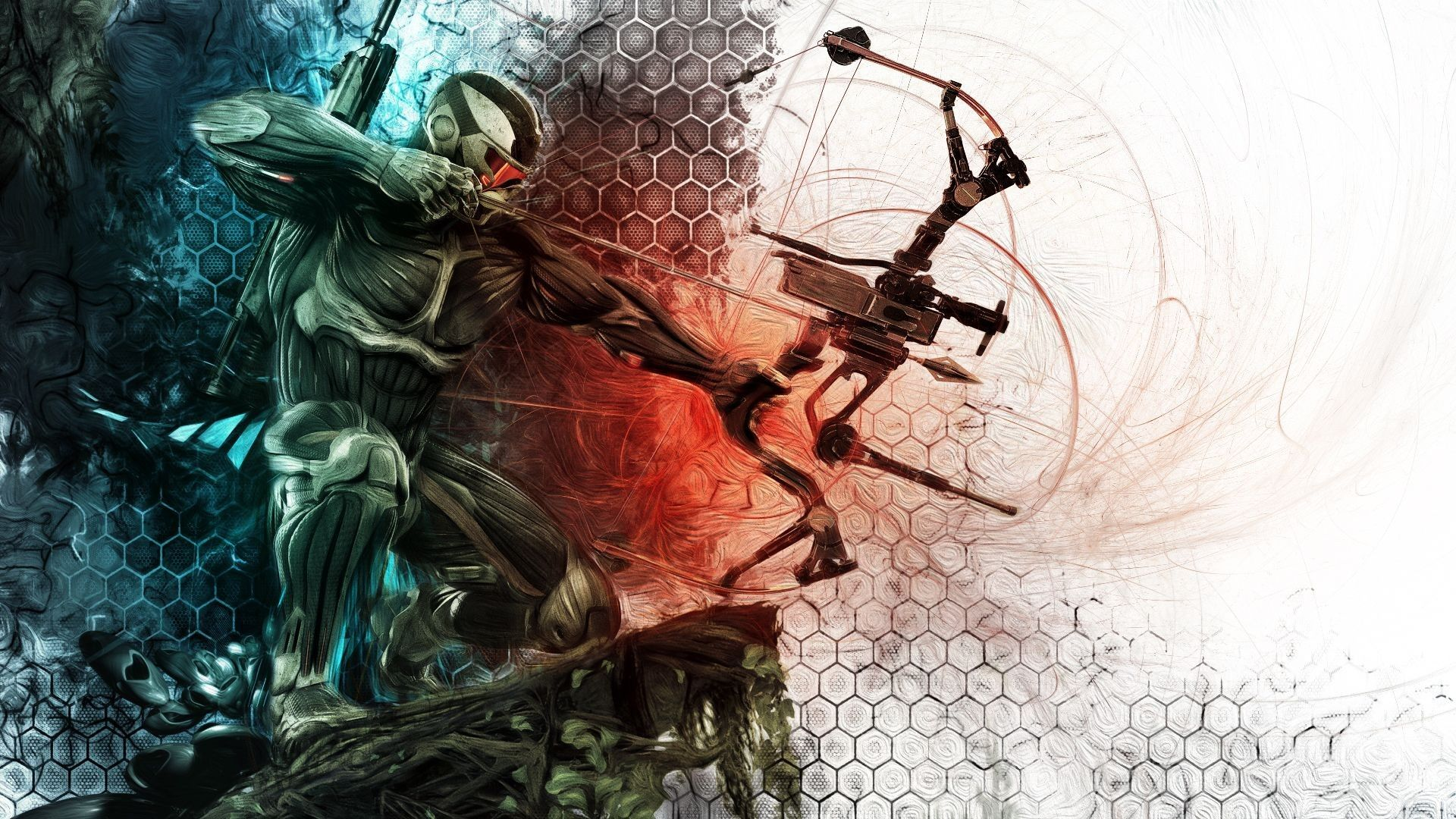 Crysis 3 Wallpaper With Bow