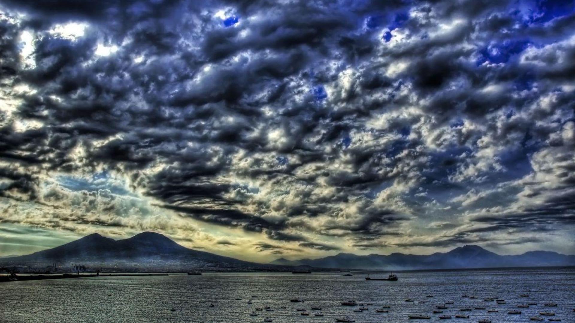 Dark Clouds background