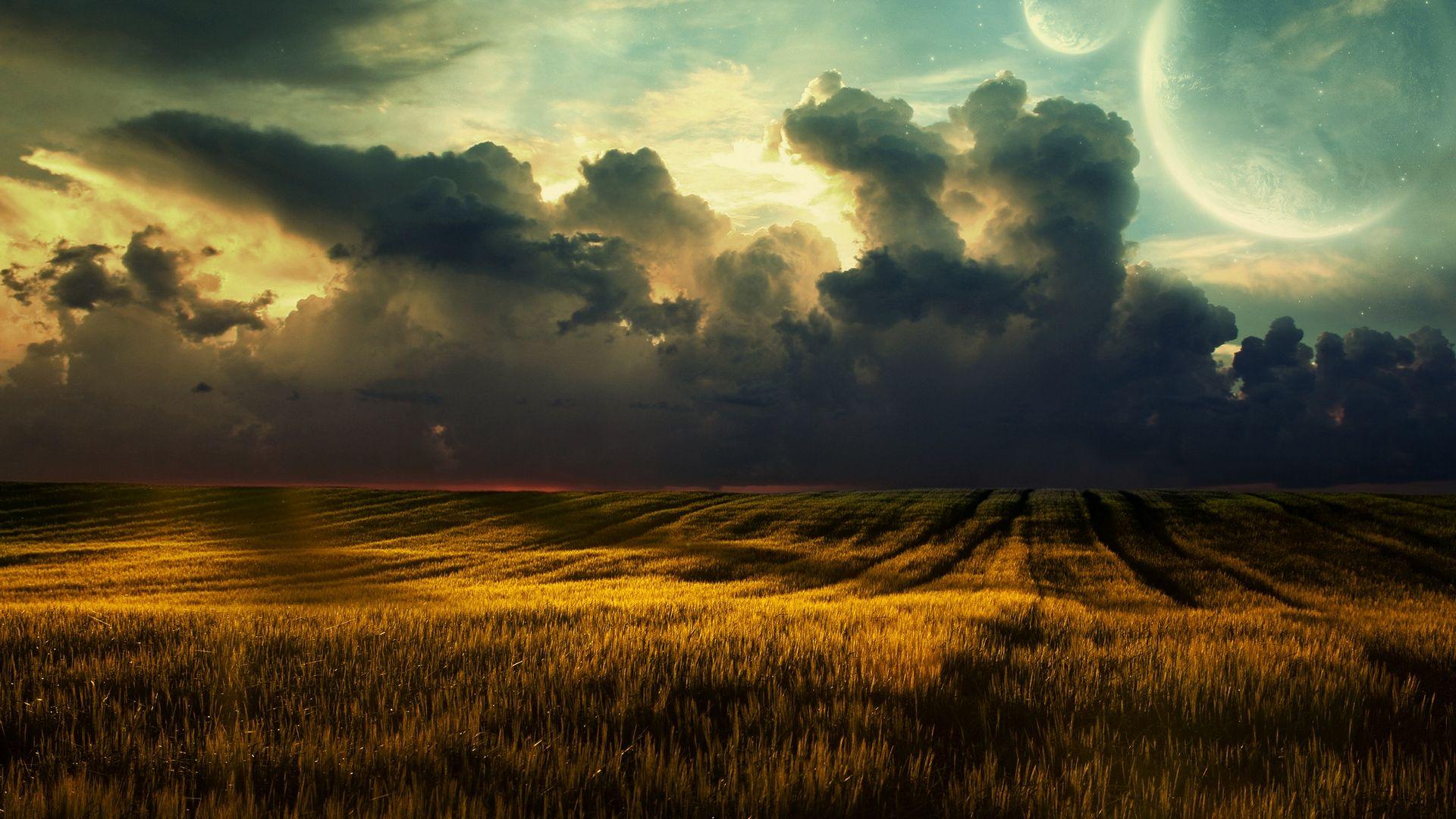 Dark Clouds background picture hd