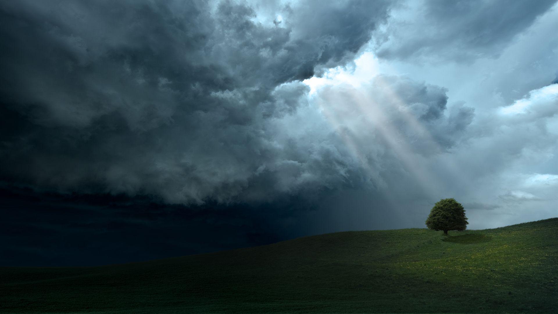 Dark Clouds wallpaper download