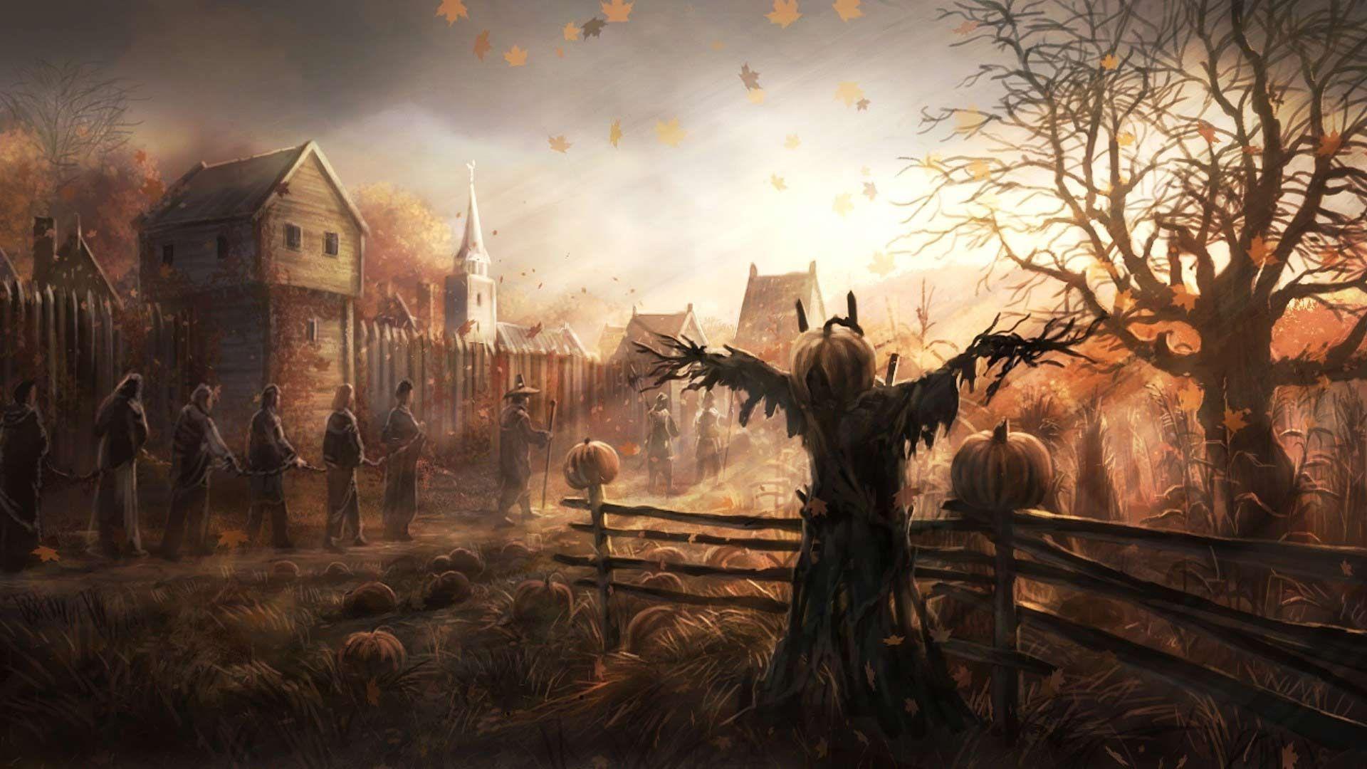 Dark Village Art