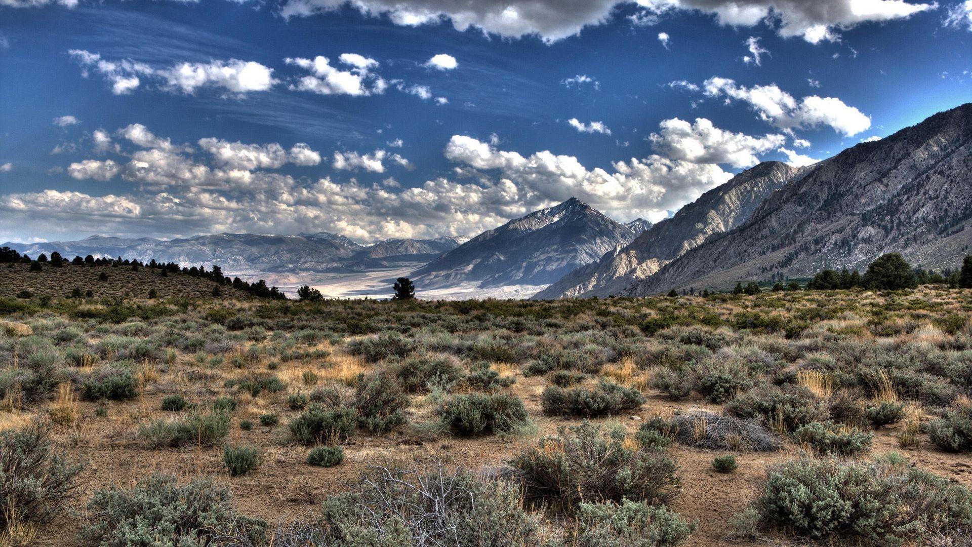 Desert Foothills Landscape nice wallpaper