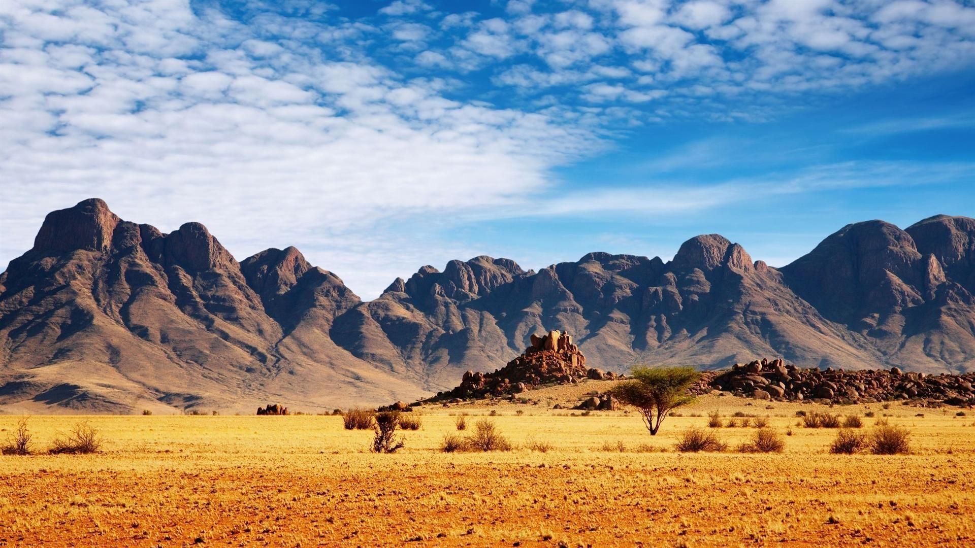 Desert Foothills Landscape jpg