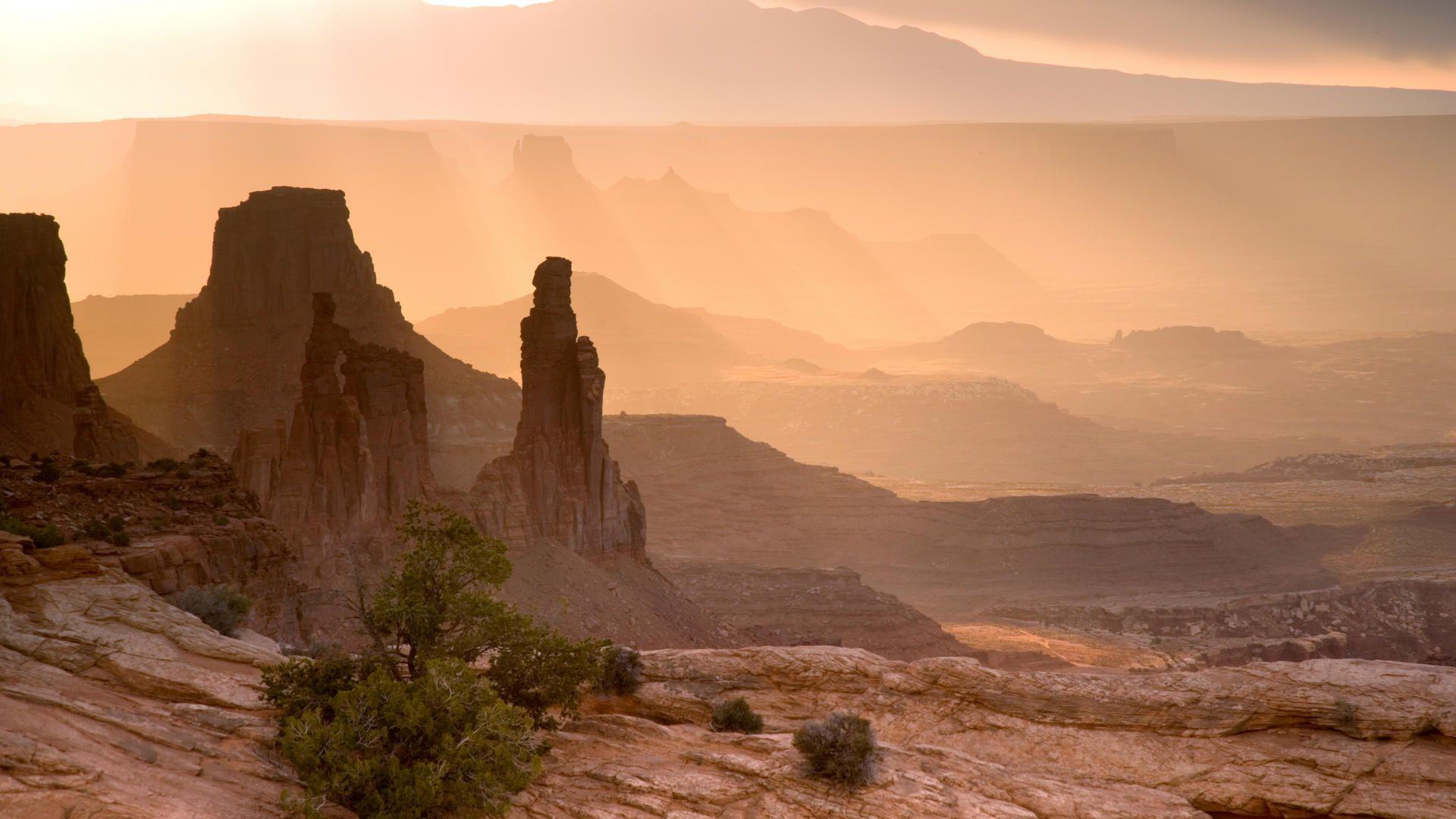 Desert Foothills Landscape desktop image