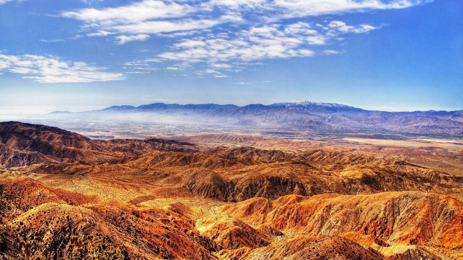 Desert Foothills Landscape wallpaper 1080p